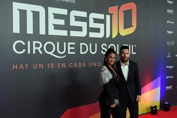 Un spectacle sur Lionel Messi au Cirque du Soleil