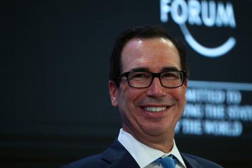 À Davos, Mnuchin conteste les prévisions «trop basses» du FMI pour les États-Unis