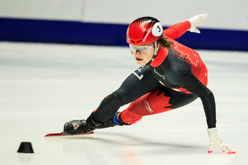 Kim Boutin demeure invaincue sur 500m