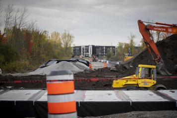 Prolongement d'un boulevard àLongueuil Des projets delotissement dans l'habitat de la rainette faux-grillon