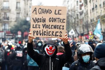 France Mobilisation pour les droits sociaux et libertés, incidents à Paris)