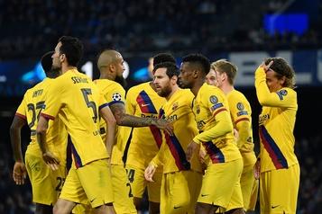 Coronavirus: les joueurs du FC Barcelone cèdent 70% de leurs salaires