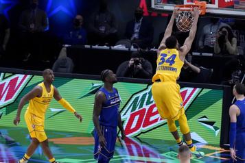 NBA La bulle du match des étoiles a fonctionné)