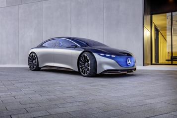 Mercedes Une Mercedes Classe S électrique dès l'année prochaine)