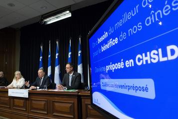 Québec lance son opération de recrutement de préposés)