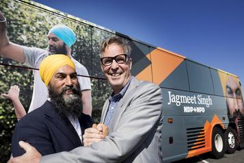 Le NPDrecrute l'ex-chef du Parti vert du Québec