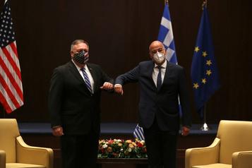 Pompeo en Grèce pour calmer les tensions en Méditerranée orientale)