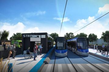 Voitures du tramway de Québec: le maire de La Pocatière croise les doigts
