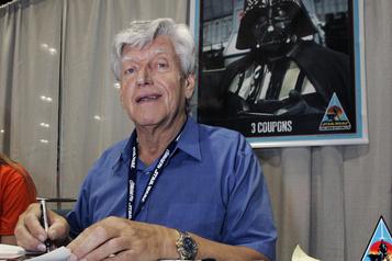 Dave Prowse, qui a incarné Darth Vader, est mort à l'âge de 85ans)