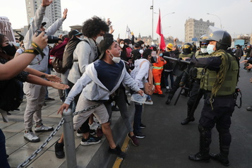 Pérou Nouvelle journée de manifestations contre le nouveau président)