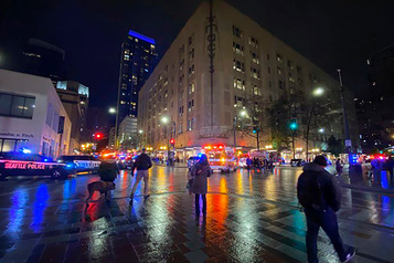 Un mort et sept blessés lors d'une fusillade à Seattle