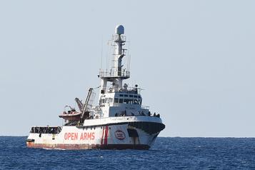 Nouvelle évacuation de migrants à bord de l'Open Arms