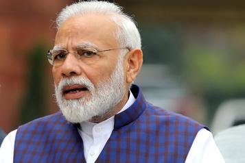 Le compte Twitter du premier ministre indien piraté)
