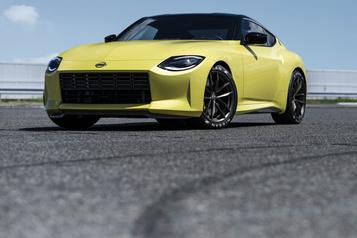 Nissan Premier coup d'œil sur la prochaine NissanZ)