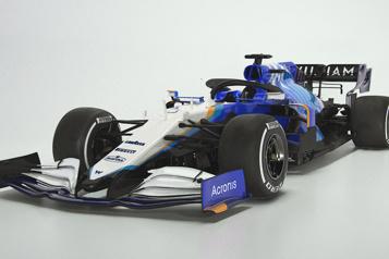 Formule 1 Faux départ pour le lancement chez Williams)