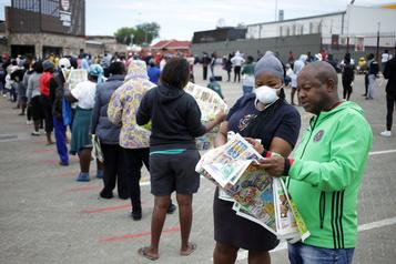 COVID-19: 20% des Sud-Africains pourraient déjà avoir été infectés)