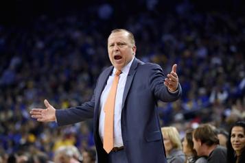 Knicks: Thibodeau est de retour comme entraîneur)