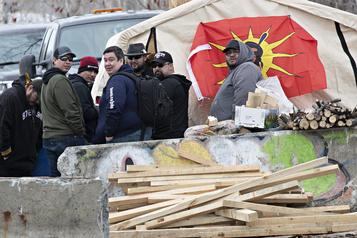 La barricade de Kahnawake toujours en place