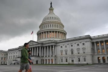 Quatre grands chantiers, un Congrès divisé Washington n'a pas la tête à la fête