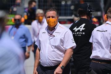 Grand Prix de Grande-Bretagne Le patron de McLaren positif à la COVID-19)