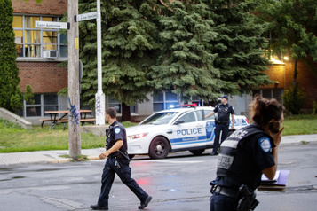 Mort d'un enfant: Montréal pourrait apporter des correctifs à une intersection)