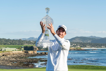 Le Canadien Nick Taylor l'emporte à Pebble Beach
