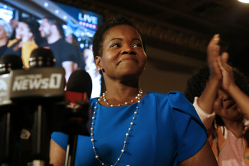 Première en 60ans dans une grande ville Une socialiste en voie de devenir mairesse de Buffalo)