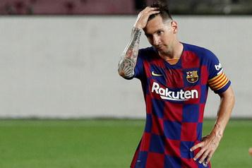 Les rumeurs sur l'avenir de Messi à Barcelone refont surface)