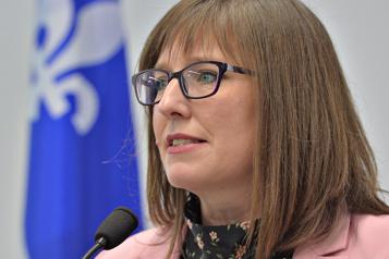 Climat de travail La ministre Marie-Ève Proulx refuse de s'expliquer)
