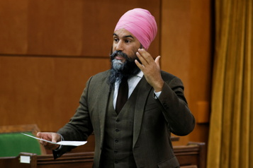 Sondage Jagmeet Singh ferait un meilleur premier ministre qu'Erin O'Toole)