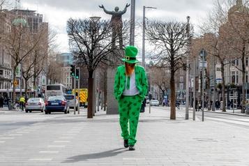 Le coronavirus gâche la Saint-Patrick à Dublin