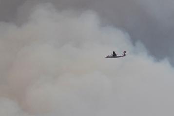 Nord de l'Ontario Presque deux fois plus d'incendies de forêt cette année)