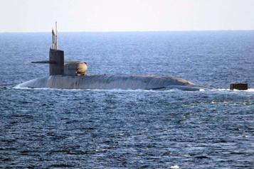 L'Iran a filmé un sous-marin américain surveillant un exercice naval iranien)