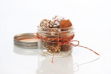 Noël en cadeau: truffes au chocolat deCassandra Loignon