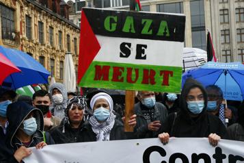 Mobilisation en faveur des Palestiniens en Europe et en Tunisie)
