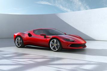 Ferrari296 GTB Le retour triomphant duV6 avec l'aide del'électrique)