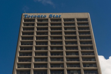 L'action de Torstar grimpe de plus de 50 %)