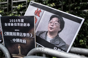 Chine: l'éditeur suédois Gui Minhai condamné à 10ans de prison