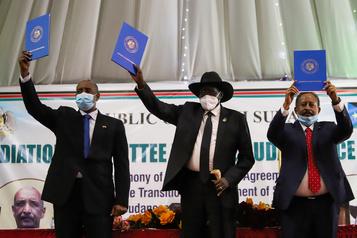 Accord de paix historique entre le Soudan et quatre mouvements rebelles)