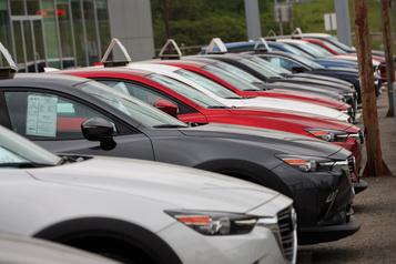La production nord-américaine de véhicules encore en décroissance)