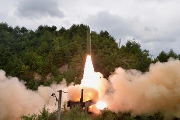 Tirs de missiles La Corée du Nord dénonce le «double jeu» des États-Unis)