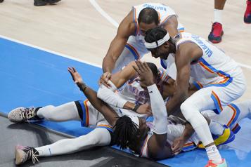 Le Montréalais Luguentz Dort donne la victoire au Thunder in extremis)