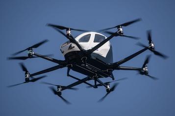 La Corée du Sud teste un taxi-drone)