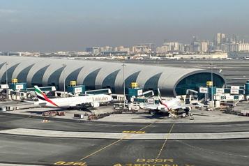 En 2020 Le trafic de passagers en baisse de 70% à l'aéroport de Dubaï)