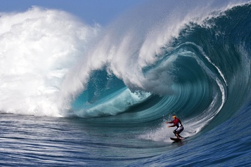 JO 2024: les épreuves de surf auront lieu à Tahiti