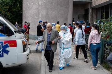 L'Asie centrale aux prises avec une deuxième vague de coronavirus)