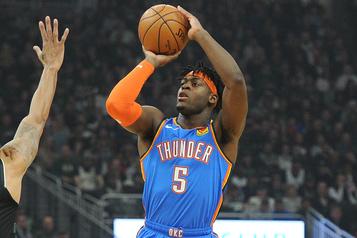 NBA: Luguentz Dort a hâte de renouer avec l'action)