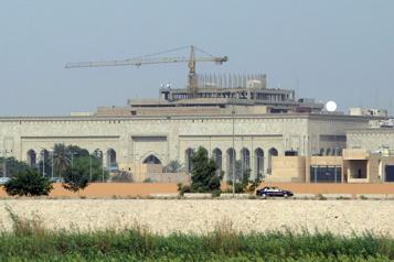Irak L'ambassade des États-Unis à Bagdad visée par des roquettes )