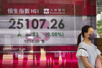Réglementation en Chine La presse tente de rassurer, la Bourse remonte)