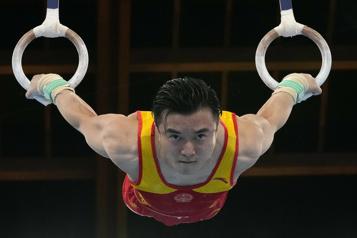Gymnastique Liu Yang champion olympique aux anneaux)